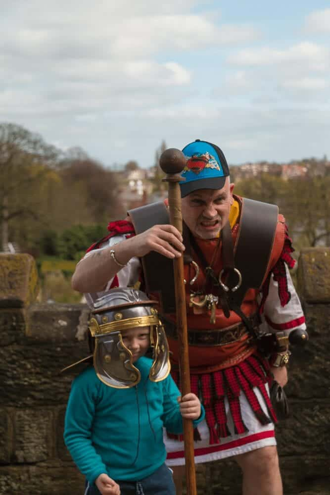 roman tours chester city walls family friendly tours chester