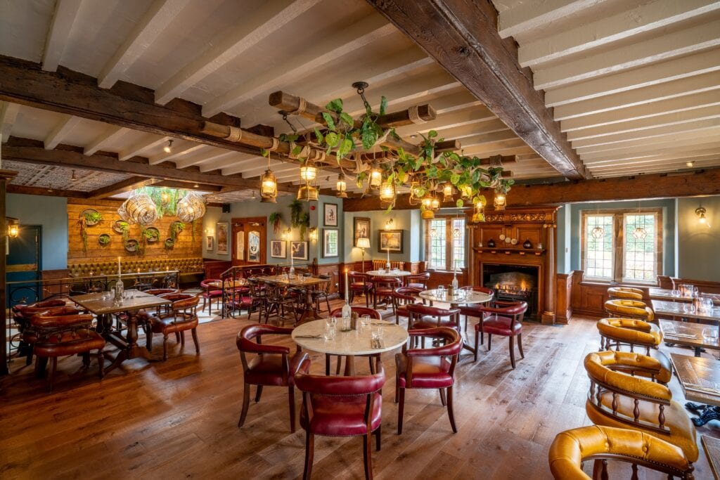 nelsons bar refurbished grosvenor pulford hotel spa
