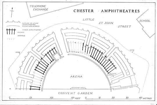 chester amphitheatre plan