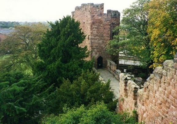 water tower city walls