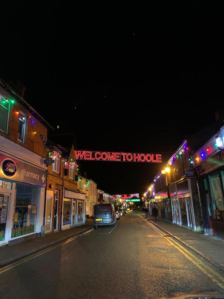 hoole christmas lights welcome to hoole