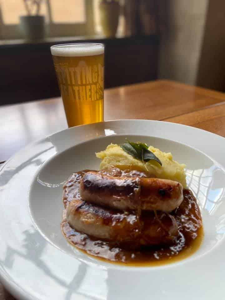 the brewery tap spitting feathers brewery sausage mash