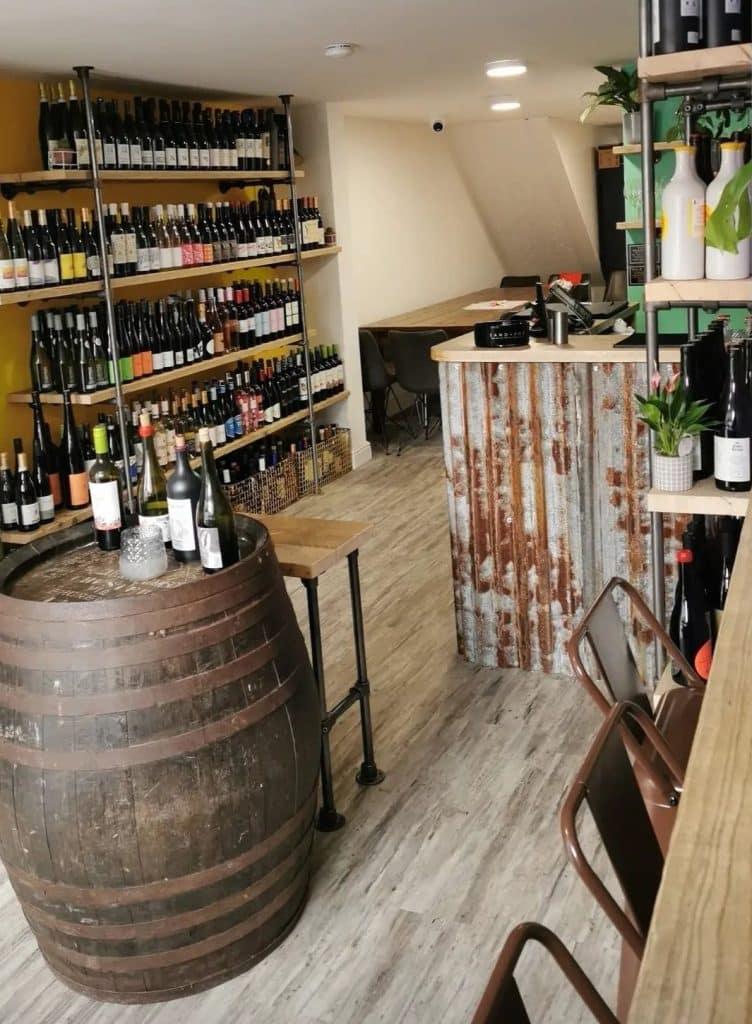 vinological vegan wine bar shop chester