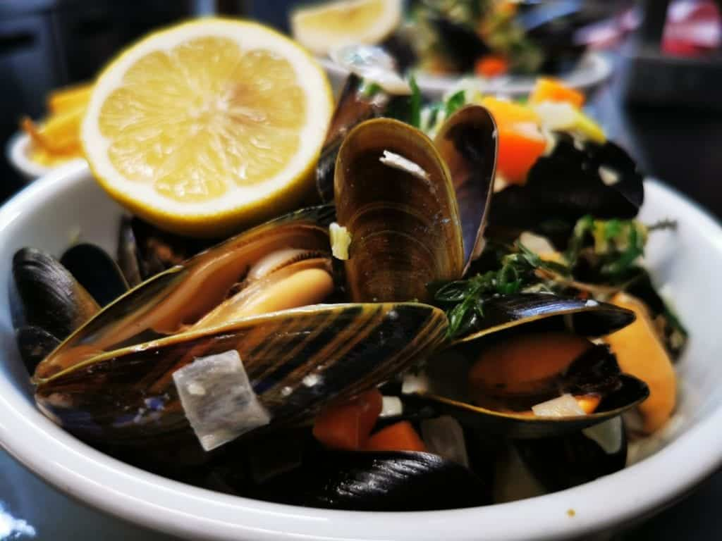 Moules a go-go bar and bistro mussels