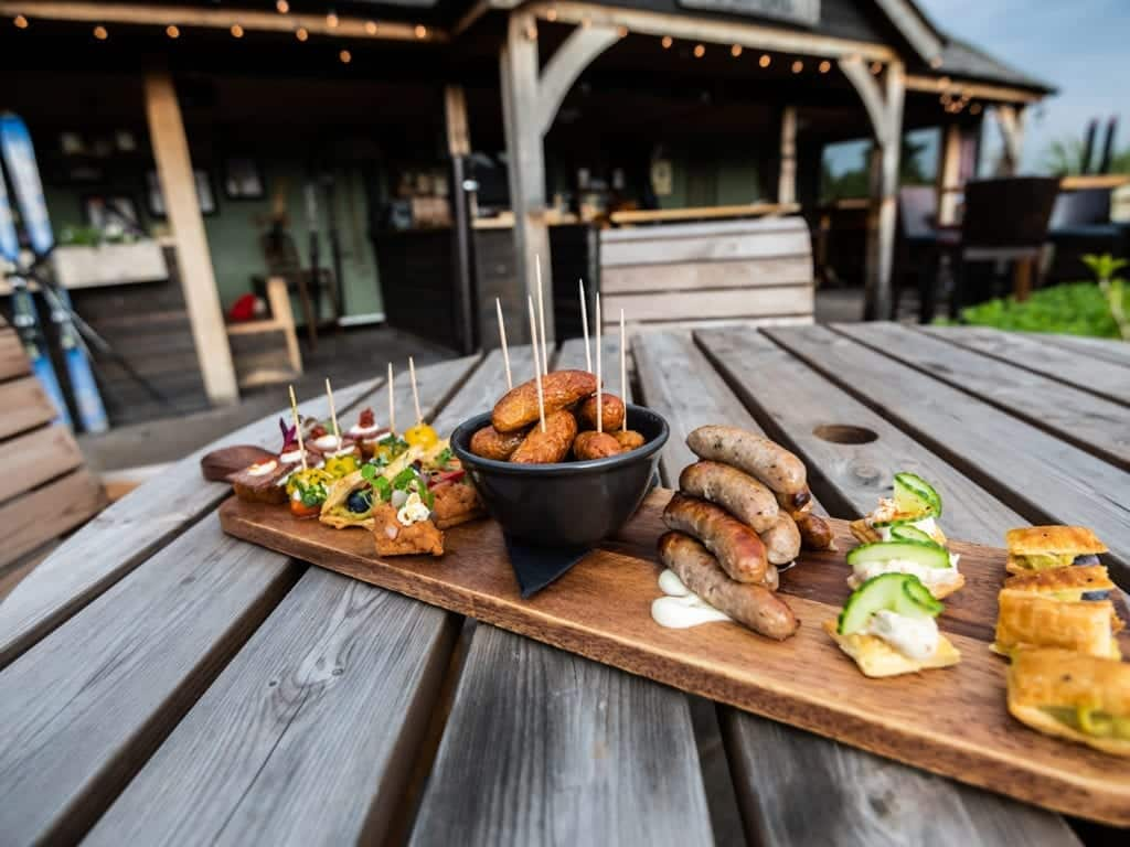 Tasty bites at The Chester Fields Country Pub and Restaurant