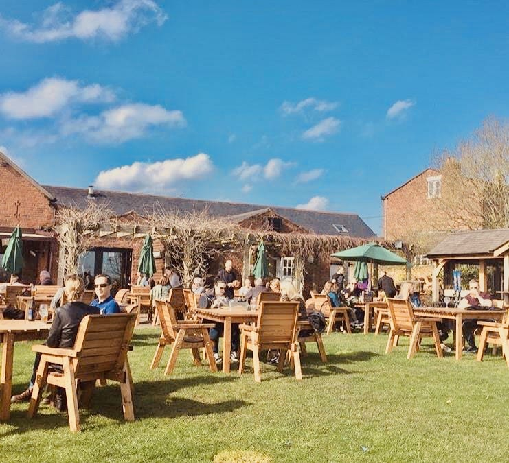 The Chester Fields Country Pub And Restaurant Outside Drinking