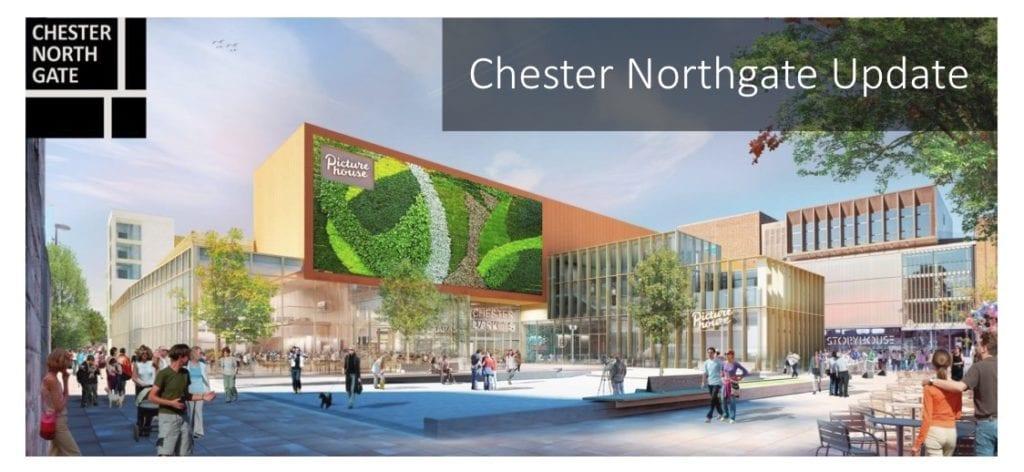 Chester Northgate Development March 2020
