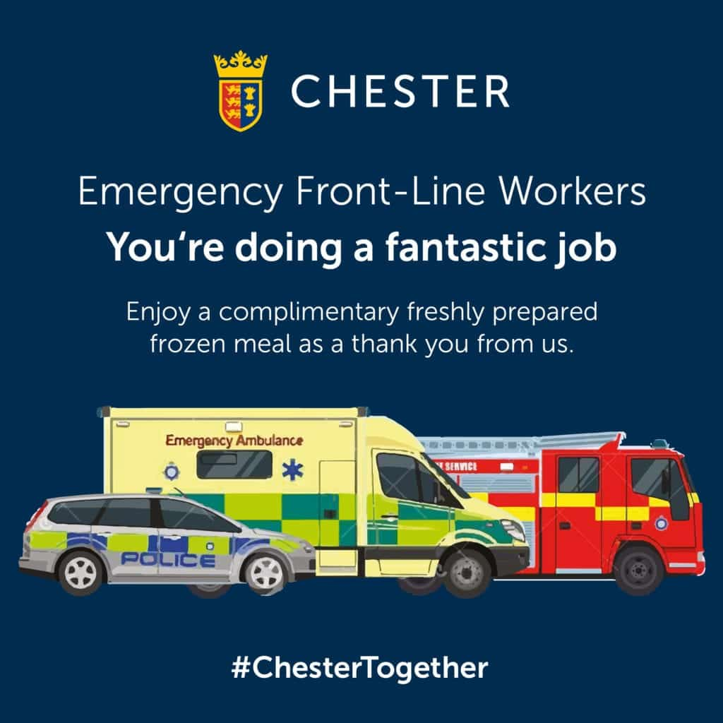 Chester Racecourse Front Line Nhs