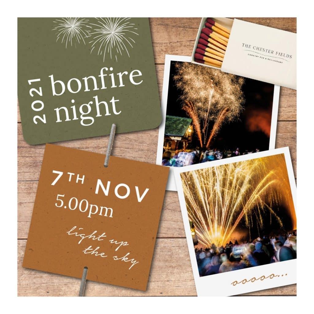 the chester fields bonfire night 2021