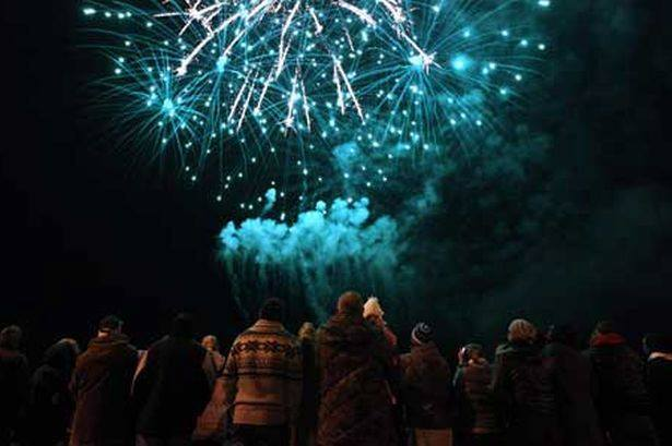 the chester fields fireworks display