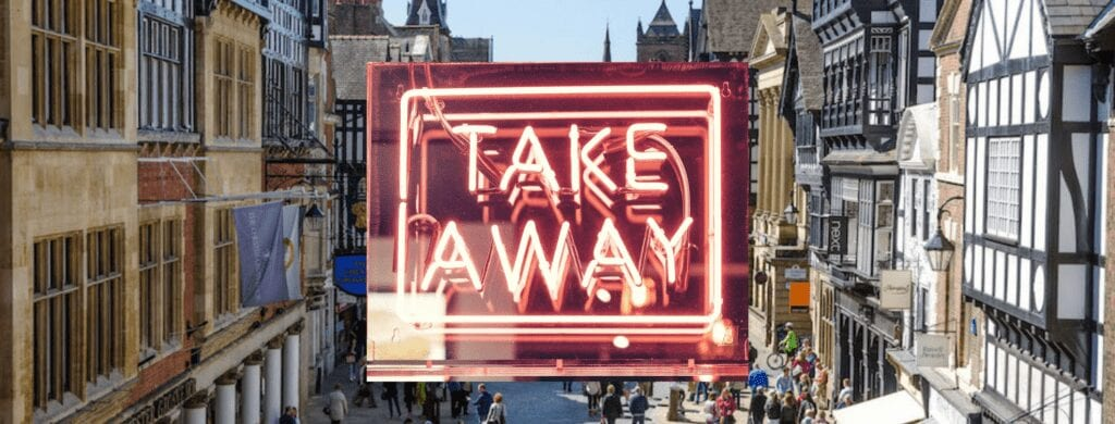 Chester.com Guide To Takeaway