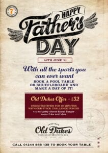 the old dukes fathers day