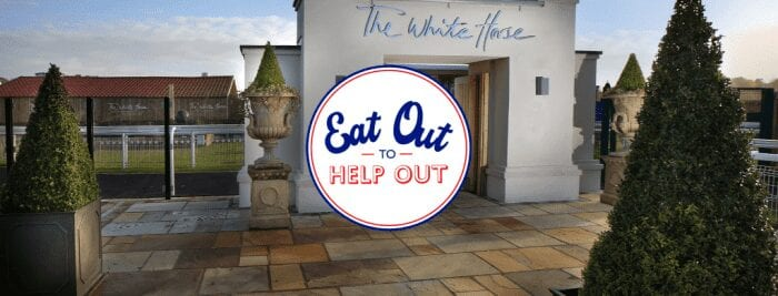The White Horse Eat Out To Help Out