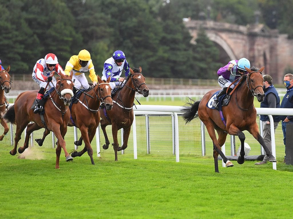 Harry Bentley Leads Iconic Queen To First In The First