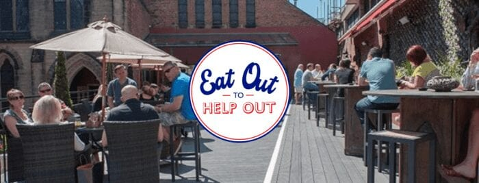 The Church Bar And Restaurant Eat Out To Help Out