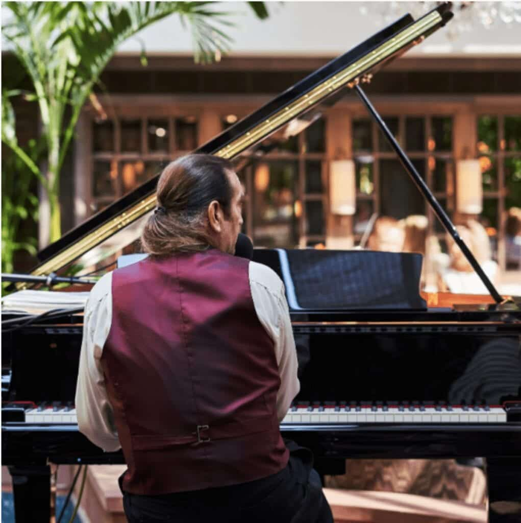 The Grosvenor Pulford Hotel And Spa Palm Court Pianist