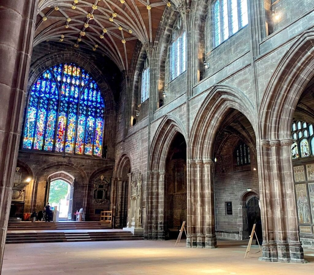 Chester Cathedral Entrance