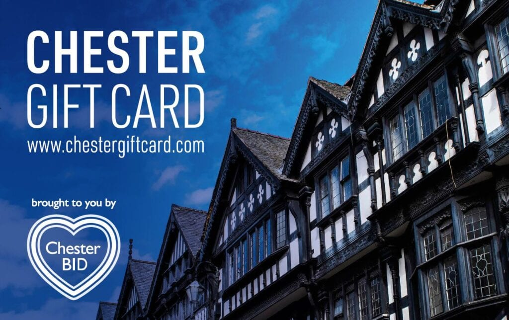 Chester Gift Card From Chester Bid