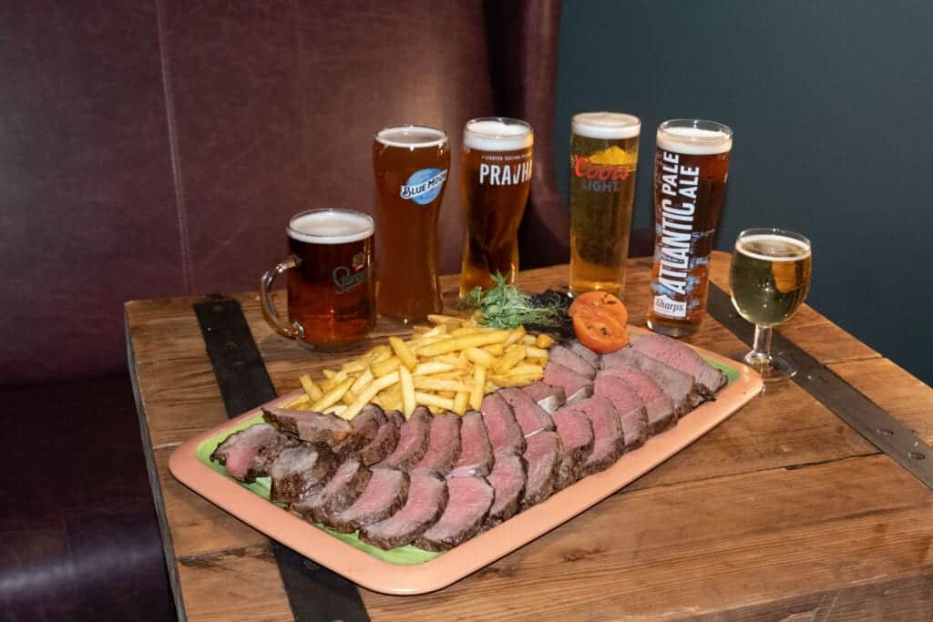 The Old Dukes Steak All Beers
