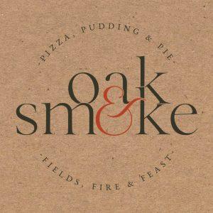 Oak And Smoke Pizza Logo