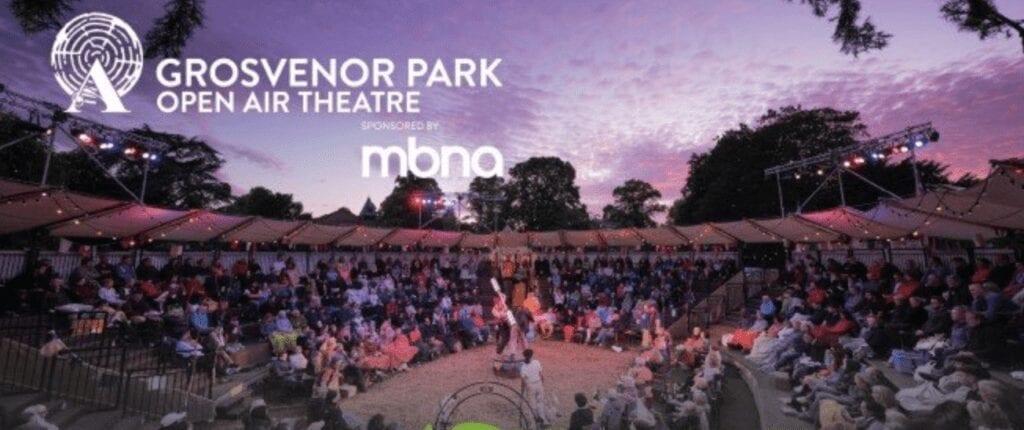 grosvenor park open air theatre 2021