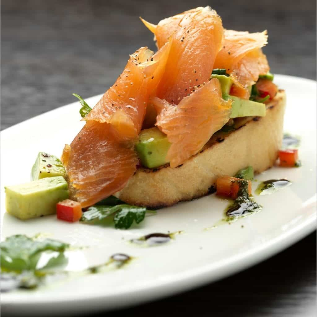 doubletree by hilton chester smoked salmon