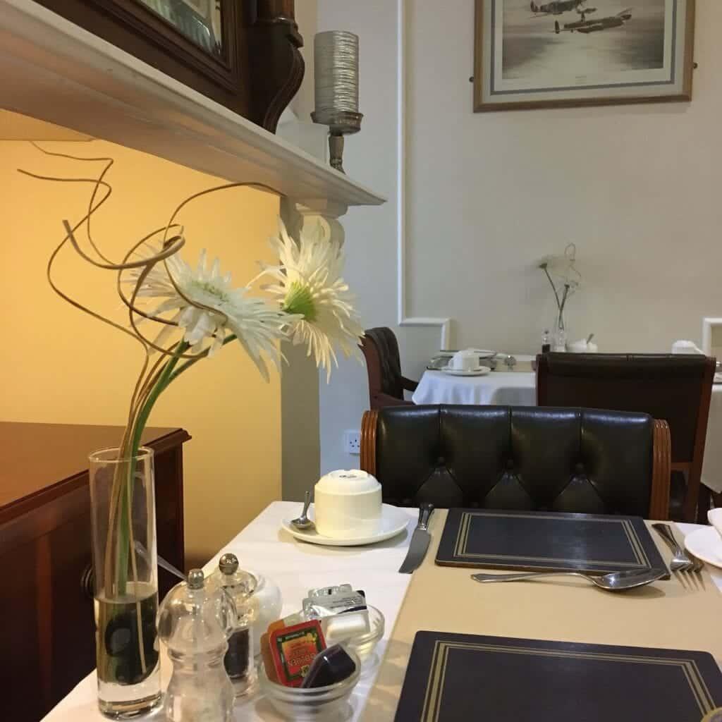 ba ba guest house breakfast room