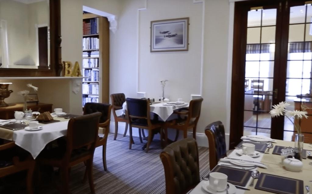 ba ba guest house hoole road chester breakfast room