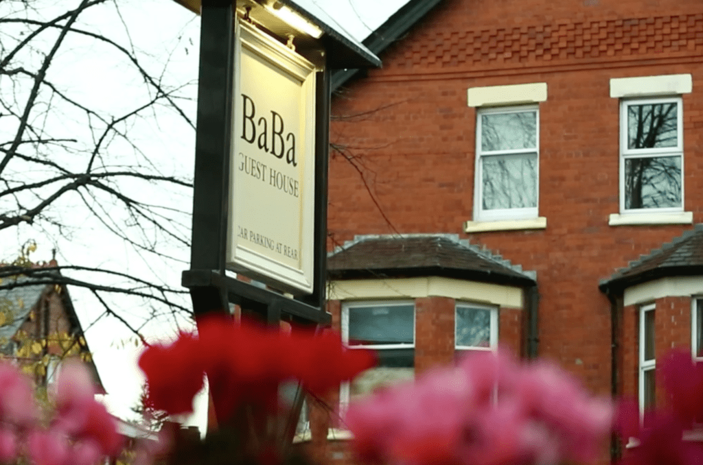 ba ba guest house hoole road chester welcome