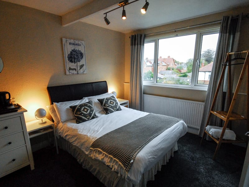 baytree lodge guest house hoole road chester double bedroom