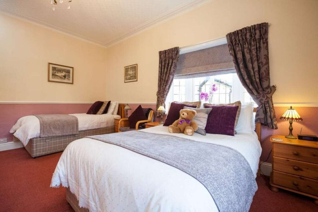 lavender lodge guest house hoole road chester family room