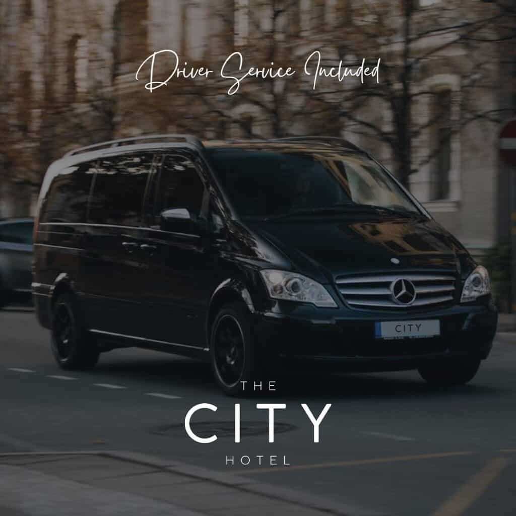the city hotel aparthotel chester driver service
