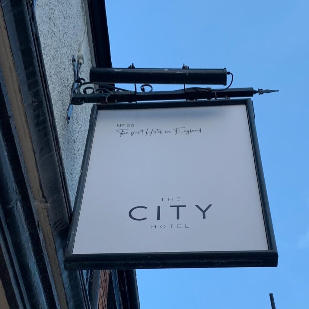 the city hotel chester