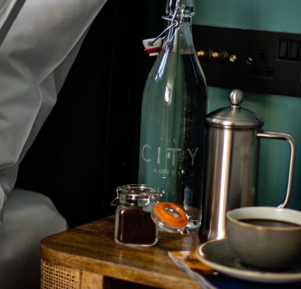 the city hotel chester luxury aparthotel jaunty goat fresh coffee