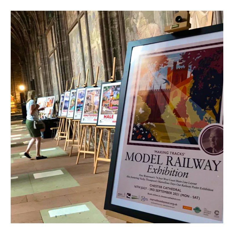 chester cathedral making tracks nicky thompson exhibition