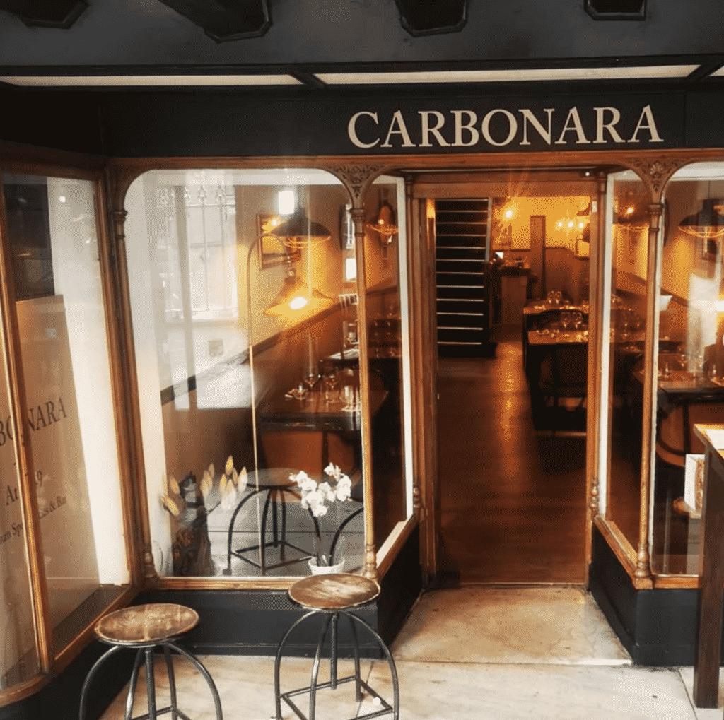 carbonar italian restaurant chester bridge street row.jpg