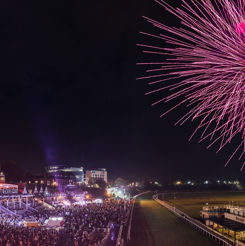 chester racecourse fireworks extravaganza