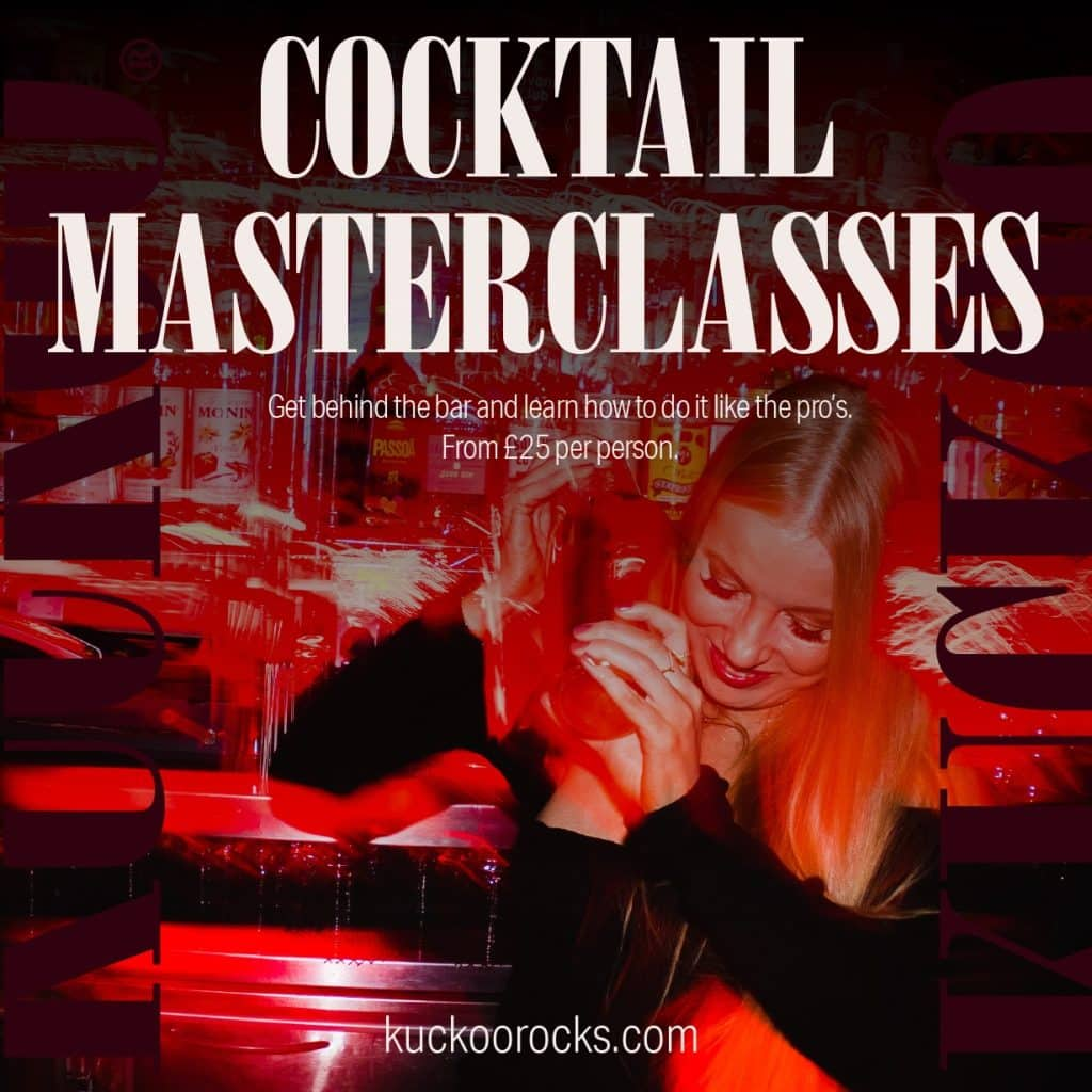kuckoo chester cocktail masterclasses