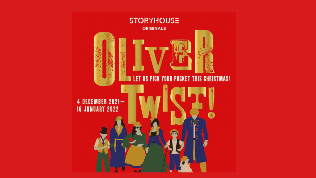 storyhouse oliver twist christmas production