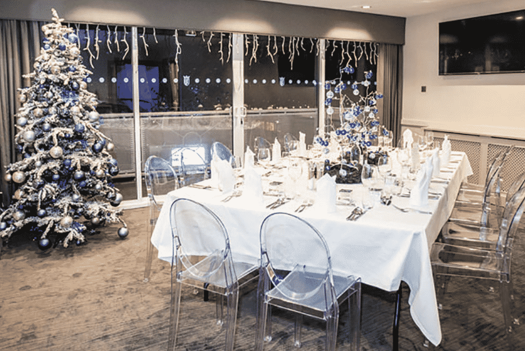 chester racecourse christmas party nights private dining