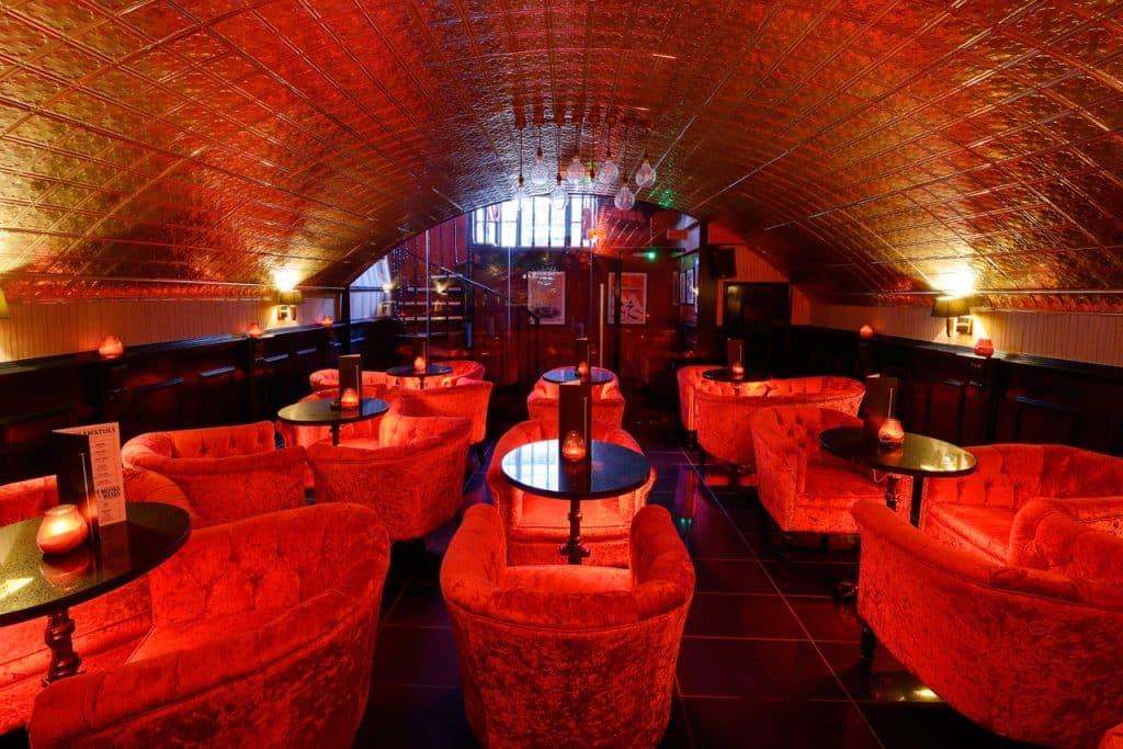 kuckoo chester cocktail bar tables