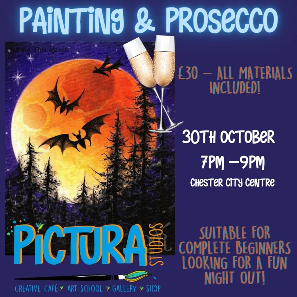 pictura studios painting and prosecco