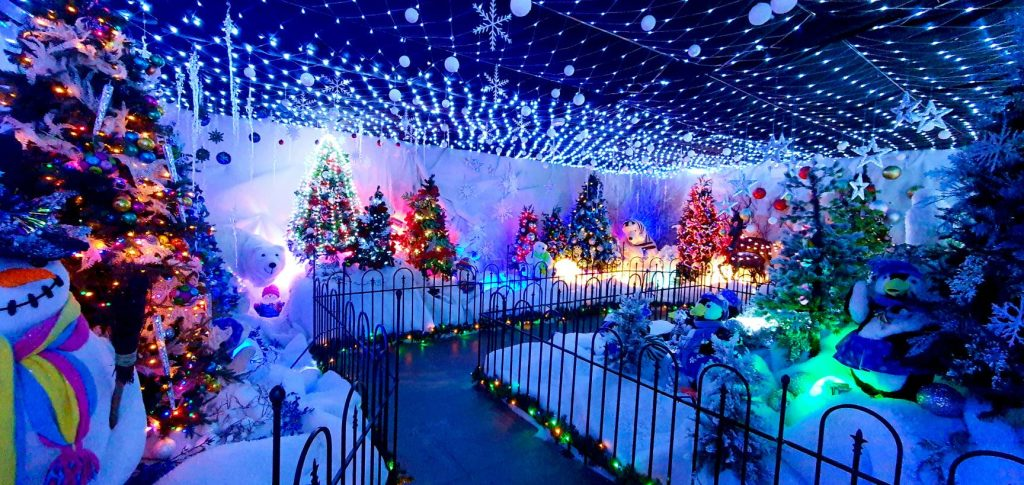 santas grotto winter wonderland meet santa chester
